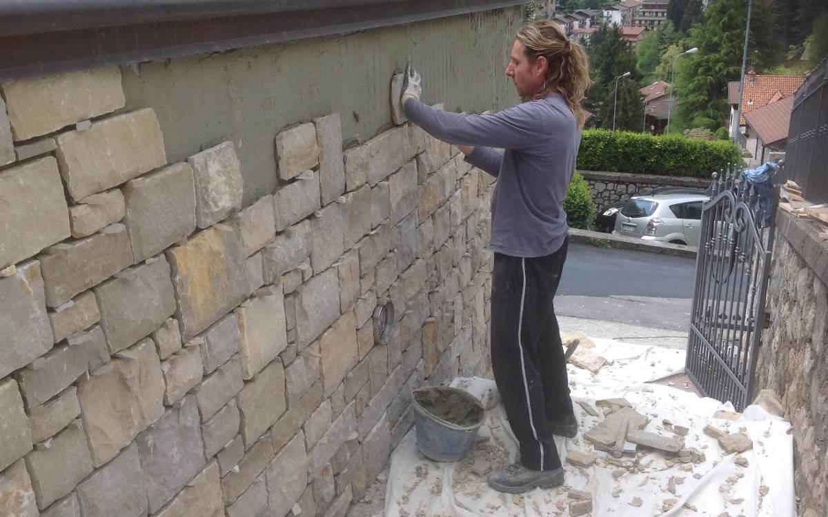 Rivestimenti pietra di credaro e pietre naturali for Pietra di credaro rivestimenti